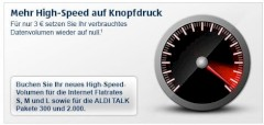 Aldi Talk High-Speed-Option