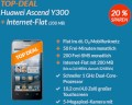 Huawei Ascend Y300 mit o2 Blue Basic bei Blue Deals