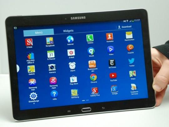 tablet mit stift samsung galaxy note 10 1 2014 edition im test news