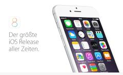 Apple hat iOS 8.1 Beta 1 ver�ffentlicht