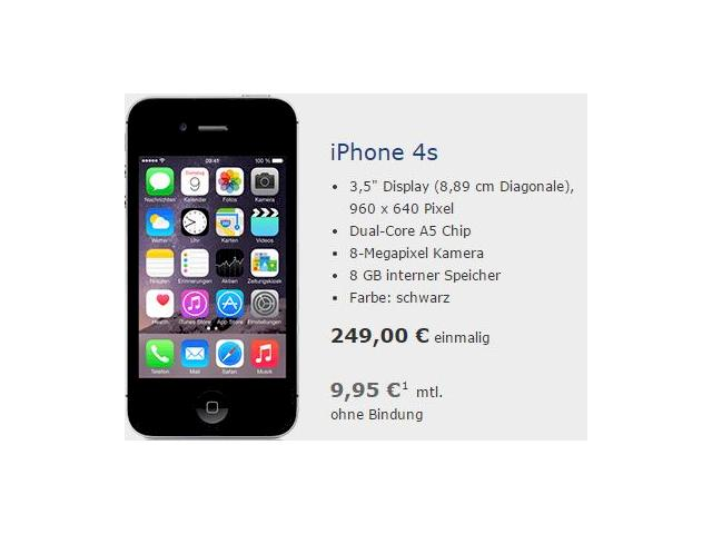 echt retro tchibo verkauft iphone 4s als aktion f r 249 euro news. Black Bedroom Furniture Sets. Home Design Ideas