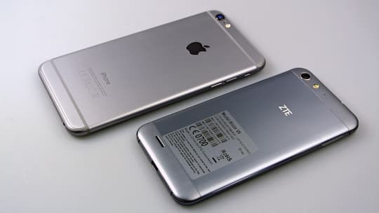 what will zte v6 plus vs huawei p8 lite get the