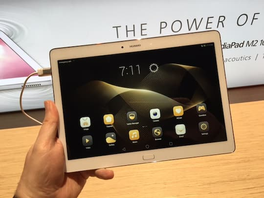 Neues Huawei-Tablet im Hands-On