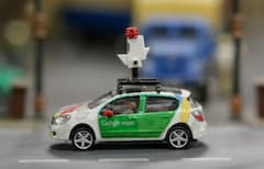 Google Street View in Miniatur