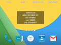 Cell Widget auf dem Android-Homescreen