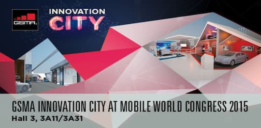 GSMA Innovation City auf dem MWC