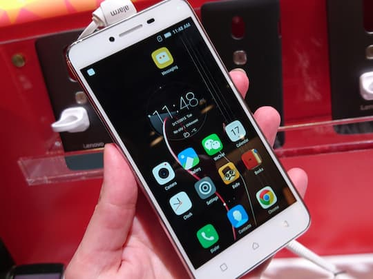 Das Lenovo Vibe K5 Plus im Hands-On