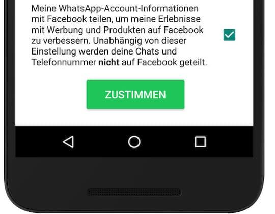 whatsapp datenschutz account news