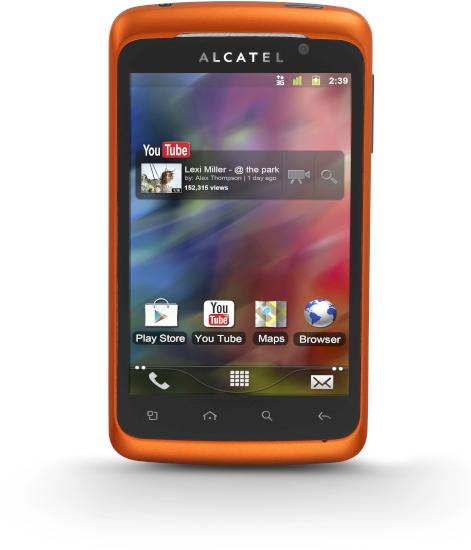 Alcatel ONE TOUCH 991D PLAY