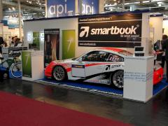 Smartbook AG CeBIT Stand Messestand