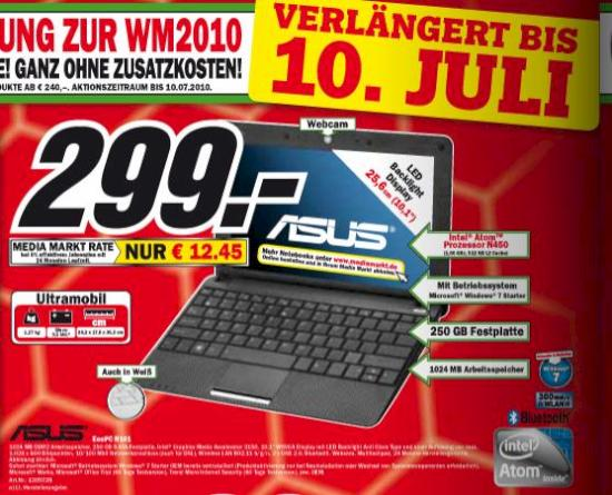 Asus Eee Pc R101 Bei Media Markt Im Angebot Teltarifde News