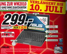 Asus Eee PC R101 1001PX Media Markt Netbook Angebot