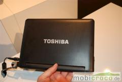 Toshiba AC100 IFA Hands-On Video Google Android