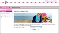Telekom-Deutschland-Website