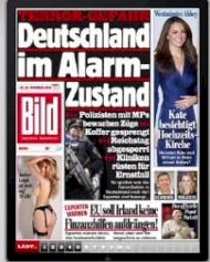 bild zeitung startet ipad app und sperrt am tablet news. Black Bedroom Furniture Sets. Home Design Ideas