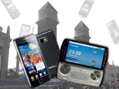 Smartphones vom Mobile World Congress 2011