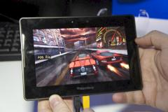 Need for Speed auf dem Blackberry Playbook von RIM