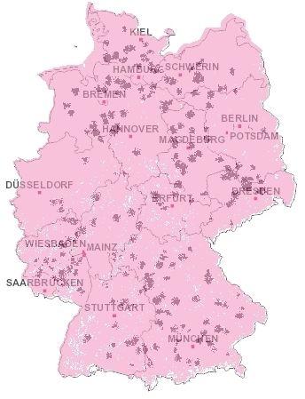Lte Masten Karte.Telekom Stellt Lte Verfugbarkeit Auf Karte Dar Teltarif De