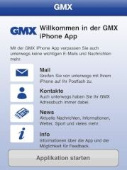 Test: GMX bietet eigene E-Mail-App für Apple iPhone