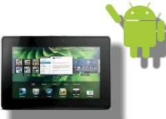 Android-Apps auf dem Blackberry Playbook