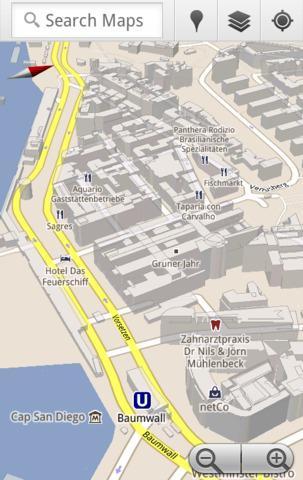 Google Maps 5.5 für Android bietet mehr Latitude-Funktionen ...