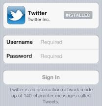 Twitter-Integration bei iOS5