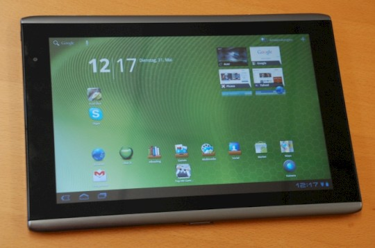Acer Iconia A500 im Test
