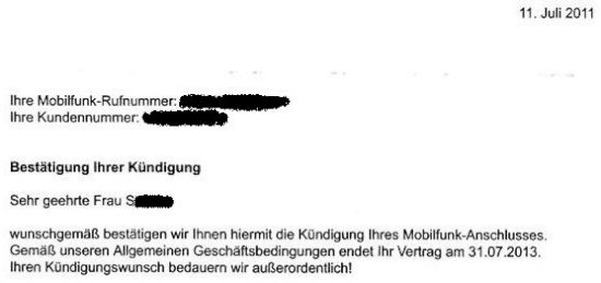 Mobilcom Debitel Kündigen Email