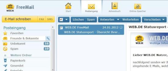 web.de freemail anmelden