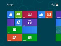 Der Homescreen von Windows 8