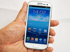 Samsung Galaxy S III mit Android Ice Cream Sandwich