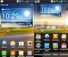 LG Optimus L7 im Handy-Test: Modernes System im Metall-Kleid