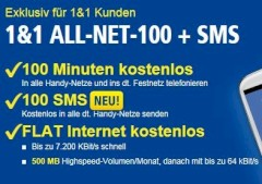 1&1 All-Net-100 plus SMS