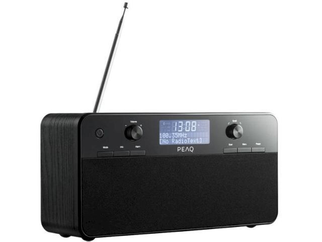 wachsende dab radio auswahl neue digitalradios von peaq. Black Bedroom Furniture Sets. Home Design Ideas