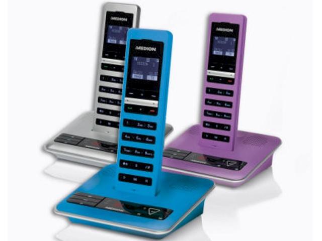 Medion Life S63064: DECT-Telefon mit Anrufbeantworter bei