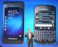 Blackberry Z10 und Blackberry Q10