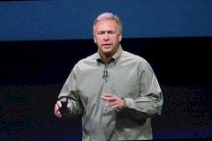 Apple-Marketing-Chef Phil Schiller wirbt fürs iPhone.