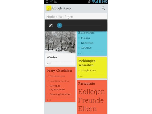 Google Keep: Notizen-App tritt gegen Evernote an - teltarif.de News