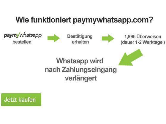 ... : WhatsApp ohne Kreditkarte und Paypal bezahlen - teltarif.de News
