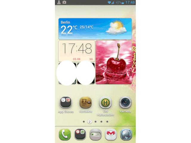 Huawei Ascend P1: Update auf Android Jelly Bean mit Emotion