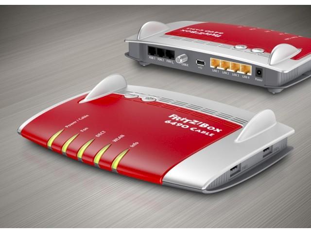 fritz box 6490 cable neues avm flaggschiff mit kabel modem news. Black Bedroom Furniture Sets. Home Design Ideas
