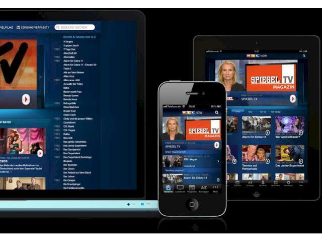 Rtl now jetzt auch stern tv und spiegel tv sieben tage im for Rtl spiegel tv