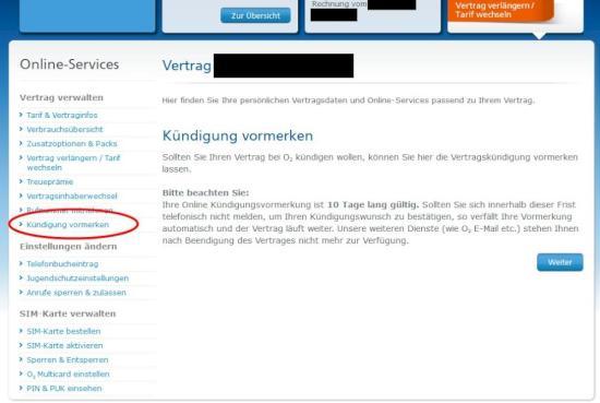 O2 Mobilfunk Kündigung Jetzt Auch Online Möglich Teltarifde News