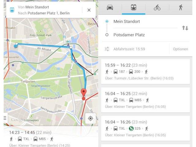 Ausprobiert Google Maps Lotst Jetzt Durch Berlin Und Brandenburg