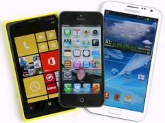 Windows Phone, iPhone und Android-Handy