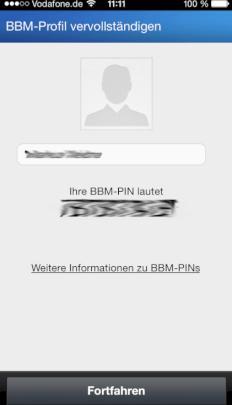 Sichere Whatsapp Alternative Bbm Auf Dem Iphone In Bildern