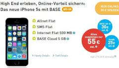 iPhone 5S bei Base