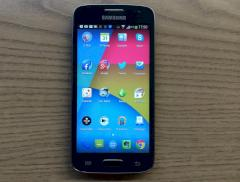 Samsung Galaxy Express 2 mit Holo Launcher HD
