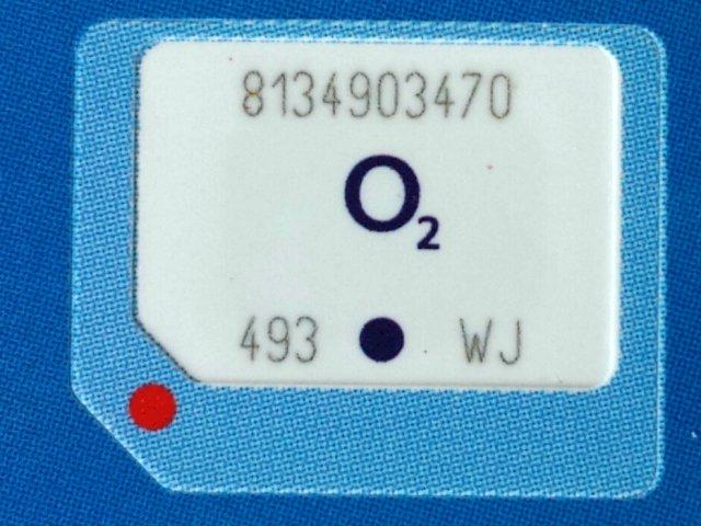 nano sim karte o2 Nano Sim Karta O2