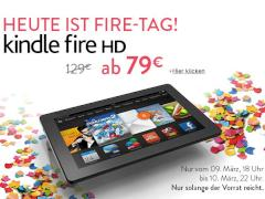 Sonderpreis: Amazon-Tablet Kindle Fire HD für 79 Euro